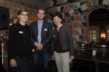 Vivien Pieper, Pieper&Partner | Stefan Fries, Deutschlandfunk (Moderator) | Susanne Wachhaus, NDR Hannover | Foto: Kerstin Hehmann